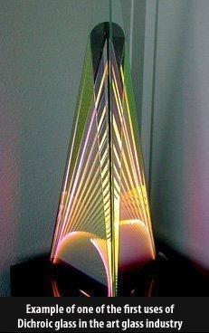 Ray Howlett's Dichroic Art Glass Design